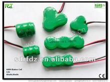 NiMH Button Cell Battery 3.6V 40mAh, 80mAh