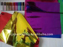 coloured metallized PET film