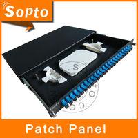 AMP Patch Panel, 24 Port Fiber Optical Patch Panel