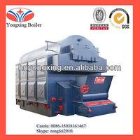 mini boiler for laundry 2ton fuel rice husk /straw steam boiler