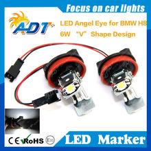 V shape LED angel eye,for H8,E90,E93,E70,E87,E60LCI,E63LCI,E64LCI