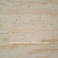 Natural white travertine stone