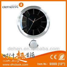Aluminium Pendulum Wall Clock