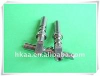 high precise stainless steel cnc turning shaft motor shaft
