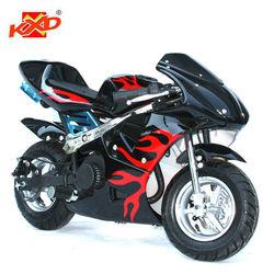 Pocket bike for kids CE 49cc pull start