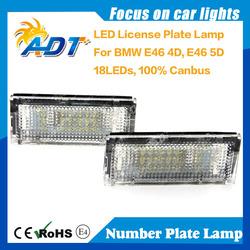 LED License Plate Lamp Full Assembly For BMw 3 - Series 325i 330i 1998 - 2005 Sedan 4 Doors ,auto parts LPL,tail light
