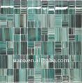 el dibujo de la oblea de sublimación de obras de arte de cristal del azulejo del mosaico