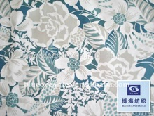 2014 NEW 100% cotton old flower printed fabric for girl dresses