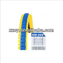 Color cheap color mountain bike tires/ durable bike tire with OEM