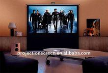 Floor Standing Projector Screen,projection screen,floor pull up screen