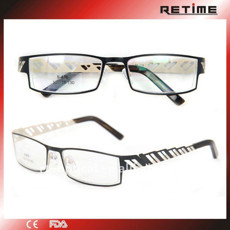 most popular design metal eyeglass frame for s 476