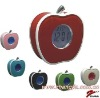 Apple shape talking digital alarm clock with Blue backlight