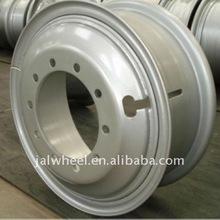 "Vendita calda 22.5x8.25""Il camion ruota cerchio in acciaio made in china"