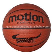 professional size 7# pu basket ball