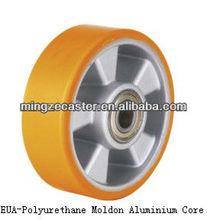 Polyurethane Moldon Aluminium Core wheel