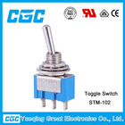 CE GOOD QUALITY MINIATURE TOGGLE SWITCH (STM-102)