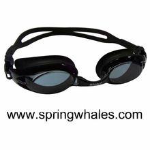 rainbow swimming goggles,waterproof silicone rubber swimming goggles,indoor glass swimming pool