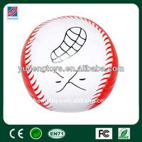 pu stress toy ball with custom printing pattern