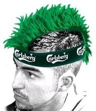 New Europe cup mohawk wig funny football fan hawk wig mohawk punk wig