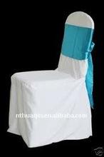 Fashion satin sash for chair cover and chair sash