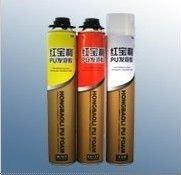 straw type good performance windshield polyurethane adhesive foam sealant