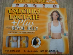 Energy Drinks-Calcium Lactate Royal Jelly