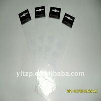 shenzhen hot sale OPP header bag opp bag with header/pvc opp bag header for cosmetic