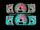 Creadive EL flashing customized Car meter Gauge/ Dashboard
