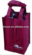 Popular Reusable Wine Bag for 4 Bottles