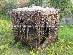 Leafey Camo 3D Blind Shelter (Camouflage Blind Tent)