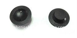 Black Small NR Rubber Button