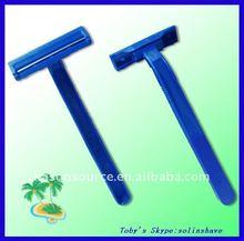 d109 twin blade stainless steel shaving razor / disposable razor/ double edge blade razor/ single / twin / triple blade razor