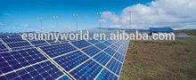 solar powered 125w polycrystalline solar panel