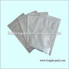 zipper pouch aluminium foil bag/ pouch factory