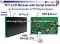 utiliza el monitor de lcd con controlador de la cpu