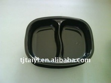 Oven baked food plastic tray CPET