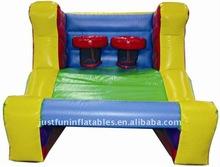 inflatble basketball hoop games