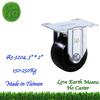 3 inch Zinc plated, Push Cart Wheels, Rigid Nylon Small Wheel