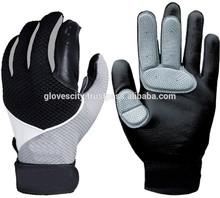 Adult Players Genuine Leather Baseball Batting Gloves