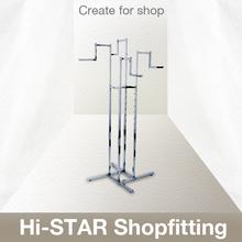 HR5007 Single Display Rack Garment Store Display Fixtures Clothing