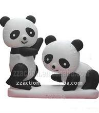 2012 HOT lovely panda inflatable cartoon