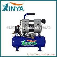XINYA 9L 8bar0.75 hp ac piston oil free mute mini direct-driven air compressor(XYW-550H-9)