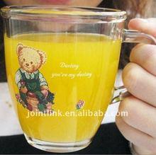 Glass Juice Mug