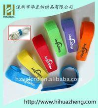 Printed nylon velcro cable ties