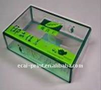 China Cheap beautiful acrylic clear plastic box