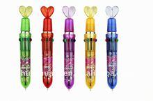 10 colour pen with heart crest