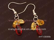 crystal earring/ zircon dangle earring/ wholesale party jewelry