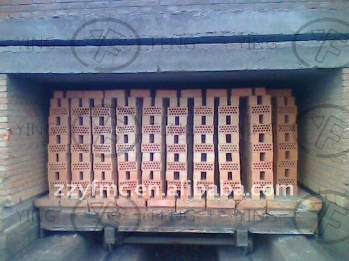 Baja inversión de las empresas! Pequeño horno túnel para quemar la ladrillos ( fabricación de ladrillos de arcilla línea de producción )