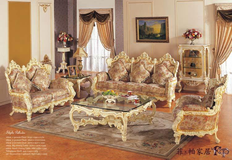 antiquefurniture_fabric sofa,antique style living room set furniture-antique sofa