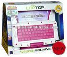 Spirit 85 function color screen kids educational game laptop 9117-1